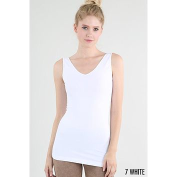 Reversible Tank Top - White