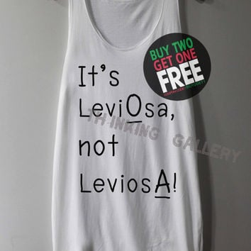 It's Leviosa Not Leviosa Shirt Harry Potter Shirts Tank Top Tunic TShirt T Shirt Singlet - Size S M L