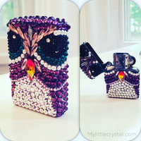 Prince Albie The Owl Crystal Zippo Lighter