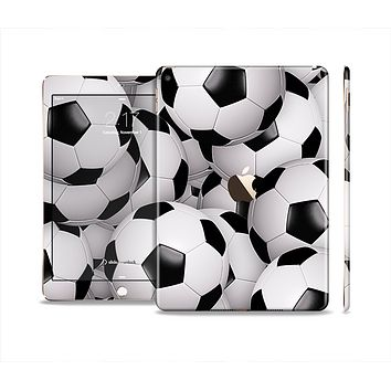 The Soccer Ball Overlay Skin Set for the Apple iPad Pro