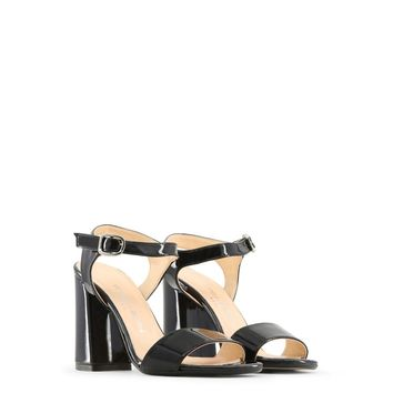 Made in Italia Angela Black Patent Sandals