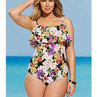 Plus Size One Piece Swimsuits | One Piece Swimwear | Sonsi