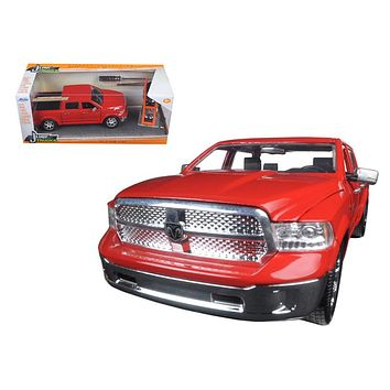 "2014 Dodge Ram 1500 Pickup Truck Red \Just Trucks"" with Extra Wheels 1/24 Diecast Model by Jada"""
