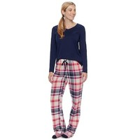Women's SONOMA Goods for Life™ Pajamas: Top, Pants & Socks 3-Piece PJ Set | null