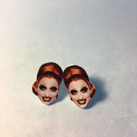 Sasha Velour - Bianca Del Rio Stud Earrings