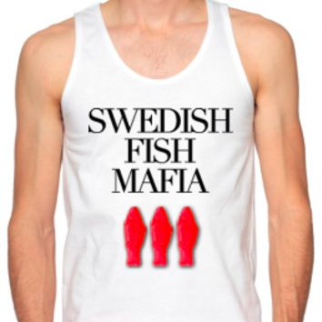 Swedish House Mafia Shirts - Swedish Fish Mafia - Mens Neon Tanks and Tees - Bad Kids Clothing | Bad Kids Clothing