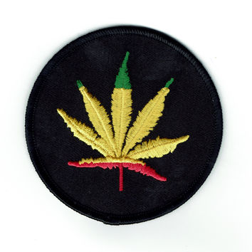 Ganja Girl Weed Patch
