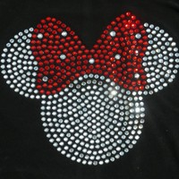 "8.5"" Red Clear Minnie Mouse Ir.. on Luulla"