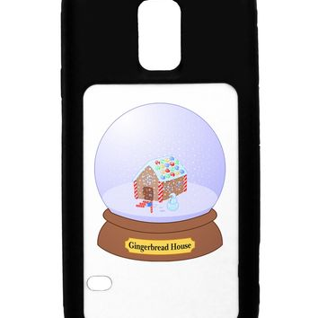Little Gingerbread House Snow Globe Galaxy S5 Case  by TooLoud