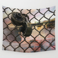Trapped Wall Tapestry by J.Lauren