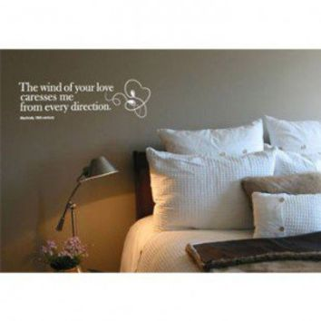 ADZif Blabla Wind of Love (English) Wall Decal - T3111E - All Wall Art - Wall Art & Coverings - Decor