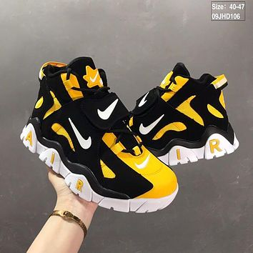 Nike Air Barrage Mid QS Black/Yellow