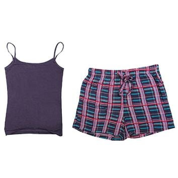 New Pajama For Women Casual Camisole & Boys Short 2 Cps Sleepwear 4 Style Home Clothing Pajamas