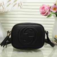 GUCCI  Women Shopping Leather Crossbody Satchel Shoulder Bag H-LLBPFSH