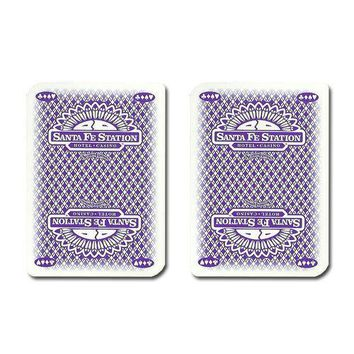 Single Deck Used in Casino Playing Cards - Santa Fe