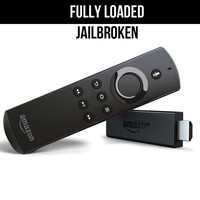 Jailbroken Amazon Fire Stick With Voice Remote - Fully Loaded Version 17.3