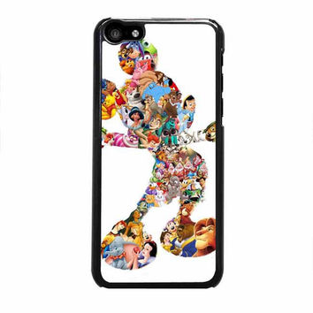 mickey mouse silhouette iphone 5c 4 4s 5 5s 6 6s plus cases