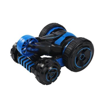 Stunt Car 2.4G RC Car 360 Degree Rotate Remote Control Off Road Electric Race Double Side Car Children Christmas Gift Toy