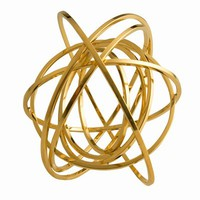 DELFINA DELETTREZ TOURBILLON 8 CIRCLE BANGLE - D20222B11 - WOMEN - JEWELRY - OPENING CEREMONY
