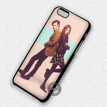 Cute Couple Image Doctor Who Clara - iPhone 7 6 5 SE Cases & Covers