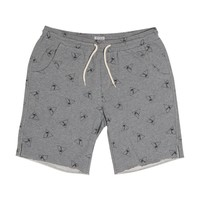 Semi Pro Fleece Short - Heather Grey