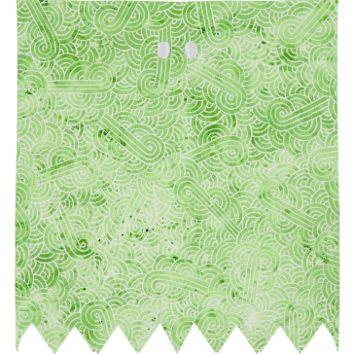 Greenery and white swirls doodles Ghost Costume