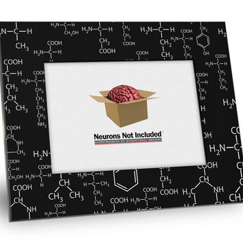 Molecular Structure Picture Frame