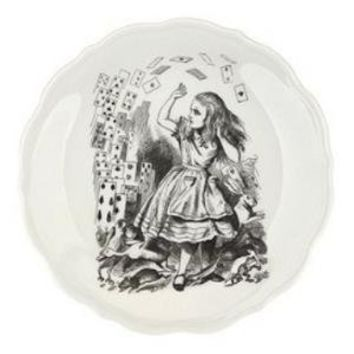 Alice and Cards Wonderland Plate