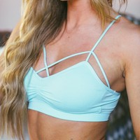Strappy Front Seamless Bralette (all colors)