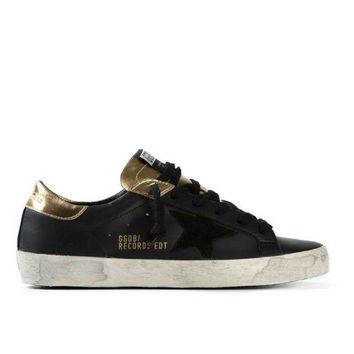 DCCKO03T Golden Goose Superstar Sneakers Black/Gold