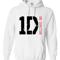 I love 1D One Direction Hoodie Hooded Sweatshirt Harry Liam Louis Niall Zayn