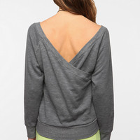 SOLOW Dancer Warm-Up Pullover Sweatshirt
