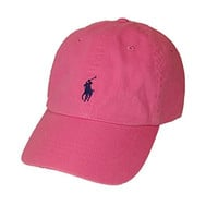 Polo Ralph Lauren Pony Logo Hat Light Pink/Navy