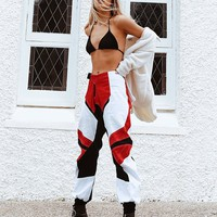 PRE ORDER Step Up Motocross Pants Red - DUE LATE APRIL
