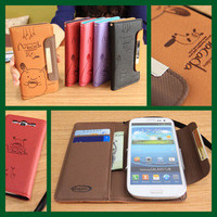 MACADA Wallet Case for Galaxy S4 S3 S2 Note3 Note2 iPhone 5S 4S LG G2 G Pro