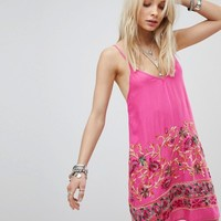 Kiss The Sky Cami Dress With Floral Embroidery at asos.com