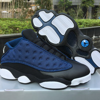 "Air Jordan 13 Low ""Navy"" AJ13 Retro Basketball Shoes"