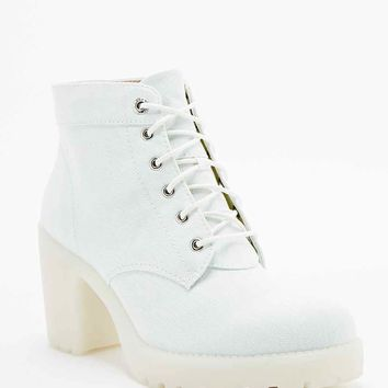 Vagabond Grace Lace-Up Boots in Mint - Urban Outfitters
