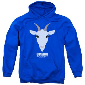 Quantum And Woody - Goat Head Adult Pull Over Hoodie
