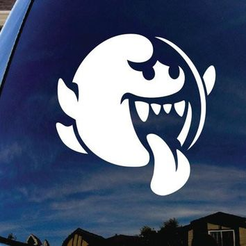 Mario Brothers Boo Decal Sticker for Car Window wall room laptop