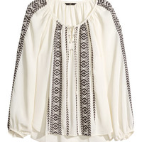 Peasant Blouse | Product Detail | H&M