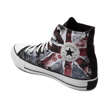 Converse All Star Hi Union Jack Flag Athletic Shoe, Black | Journeys Shoes