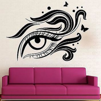 Wall Stickers Vinyl Decal Eye Cosmetic Makeup Beauty Salon Girl Woman Unique Gift (ig2264)