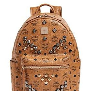 MCM Women's Studded Small Stark Backpack