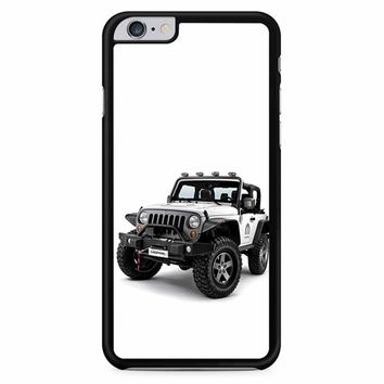 Jeep Wrangler White iPhone 6 Plus / 6S Plus Case