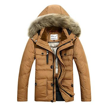 Size M~3XL Free Shipping 2017 New Style Winter Men White Cotton-padded jacket Coatst Quilted Jacket Mens Wadded Coat DL 180