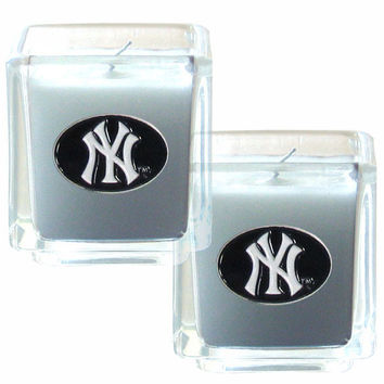 New York Yankees Scented Candle Set
