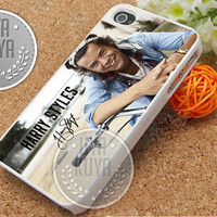 Harry Styles Smile - iPhone 4/4s/5/5S/5C Case - Samsung Galaxy S2/S3/S4 Case - Black or White