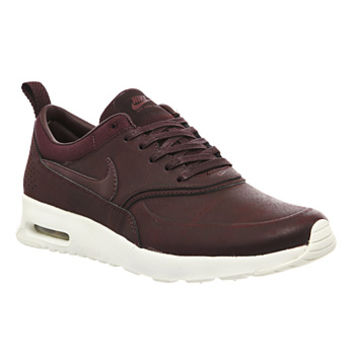 Nike Air Max Thea Mahogany Team Red Prem - Hers trainers