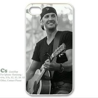 Fashion Luke Bryan Hard PC Case Cover for Iphone 5 and 5s